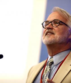 Craig Calhoun at the International Science Council launch